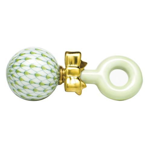 $225.00 Baby Rattle - Key Lime