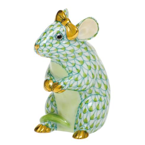 $295.00 Mouse with Bow-Key Lime