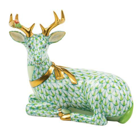 $575.00 Lying Christmas Deer-Key Lime