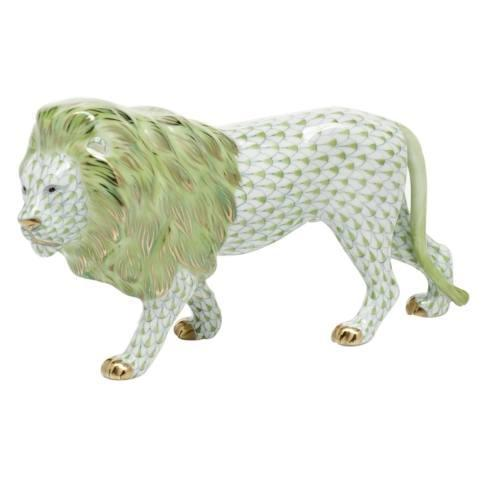 $615.00 Standing Lion -  Key Lime