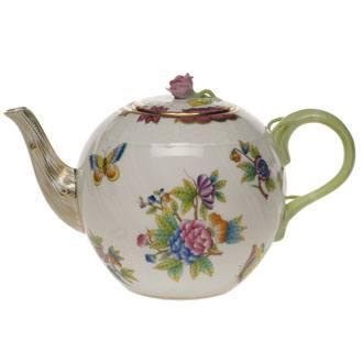 $425.00 Tea Pot W/Rose