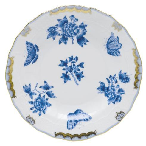 Herend  Fortuna Blue Dessert Plate $175.00