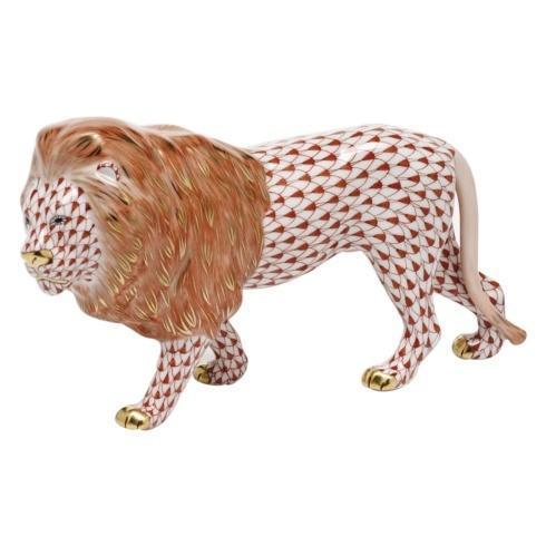 $615.00 Standing Lion - Rust