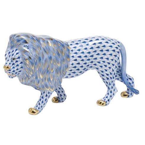 $615.00 Standing Lion -  Sapphire