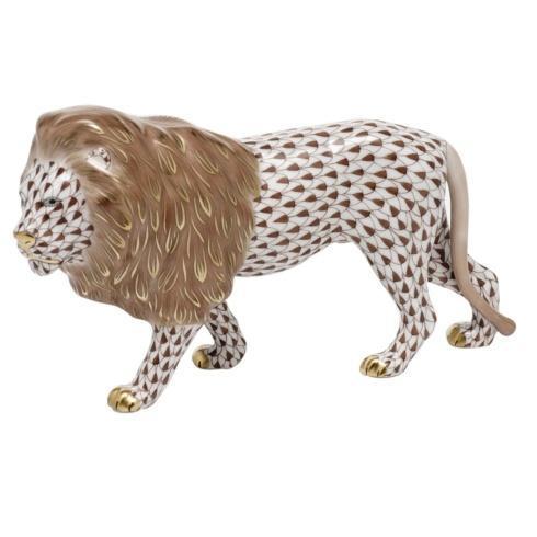 $615.00 Standing Lion -  Chocolate