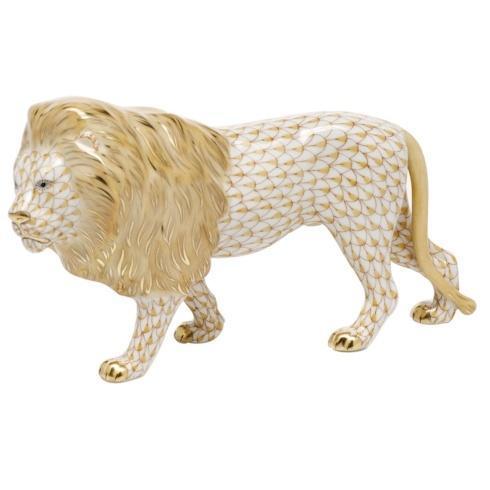$615.00 Standing Lion -  Butterscotch