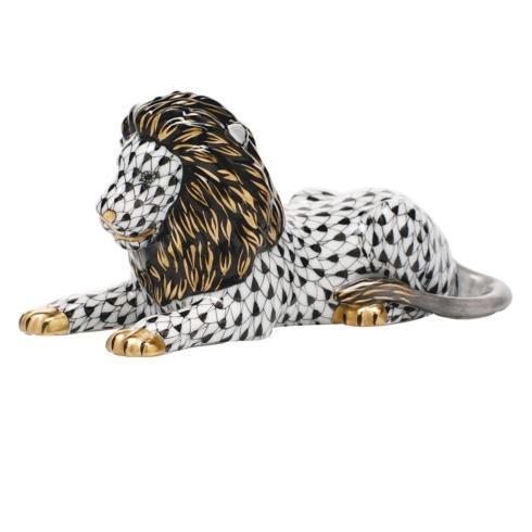$495.00 Lion - Black