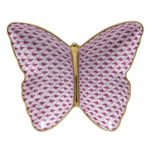 Butterfly Dish - Raspberry