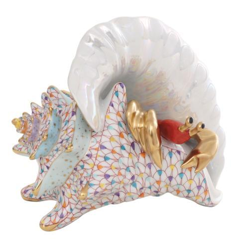 $1,980.00 Conch Shell with Curious Crab