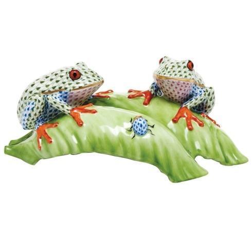 $1,595.00 Tree Frogs on Leaf