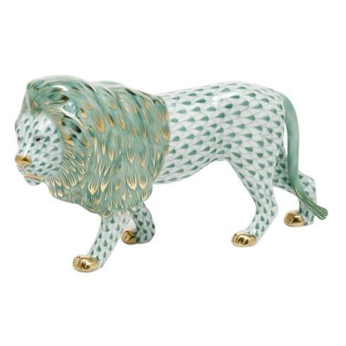 $615.00 Standing Lion -  Green