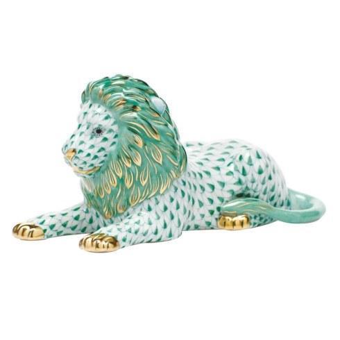 $495.00 Lion - Green