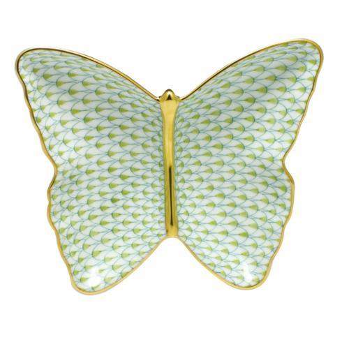 $285.00 Butterfly Dish - Key Lime