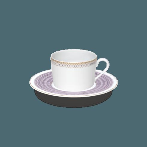 $101.00 Magnolia Tea cup & saucer small band
