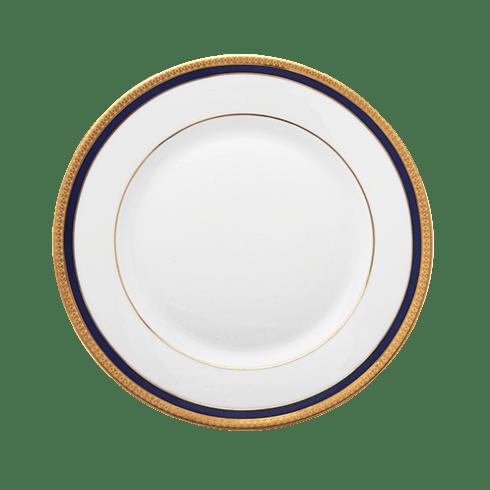 Haviland  Symphonie Gold & Blue Dinner Plate $90.00