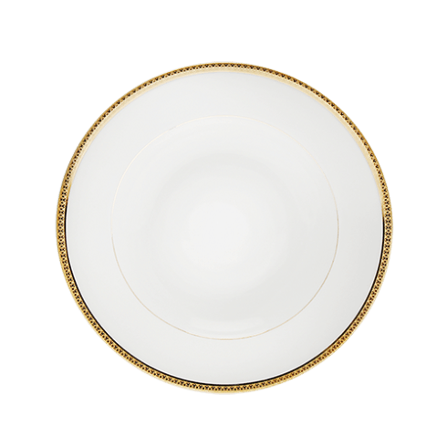 Haviland  Symphonie Gold Rim Soup Plate $90.00