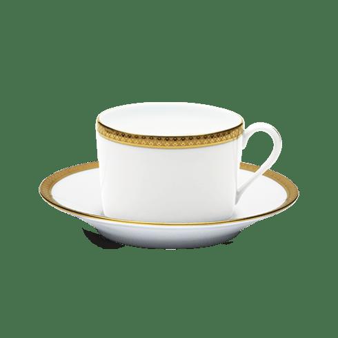 Haviland  Symphonie Gold Teacup & Saucer $150.00