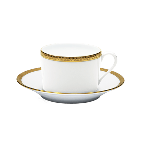 Haviland  Symphonie Gold Teacup & Saucer $130.00