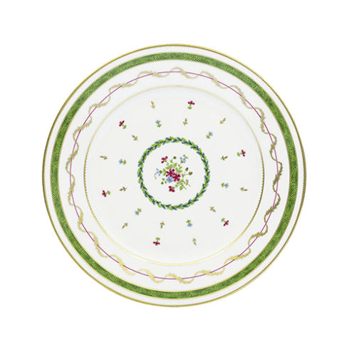 Haviland  Vieux Paris Vert Dinner Plate $166.00