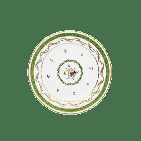 Haviland  Vieux Paris Vert Salad Plate $180.00