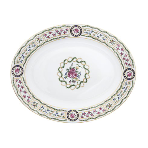 $662.00 Large Oval Dish