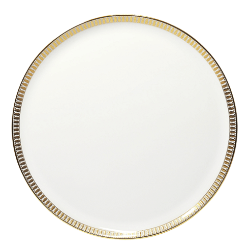 Haviland  Plumes Gold Tart Platter $245.00
