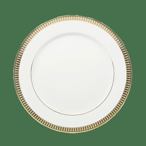Haviland  Plumes Gold Large Dinner Plate $115.00