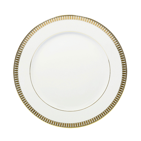 Haviland  Plumes Gold Large Dinner Plate $99.00
