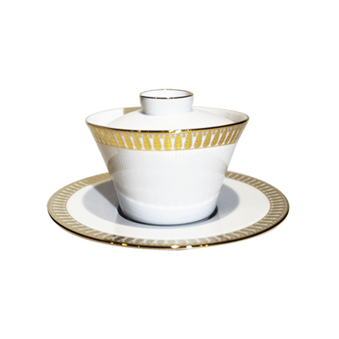 $193.00 Large Chinese Teacup & Saucer