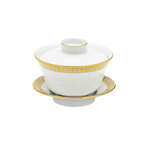 $166.00 Small Chinese Teacup & Saucer