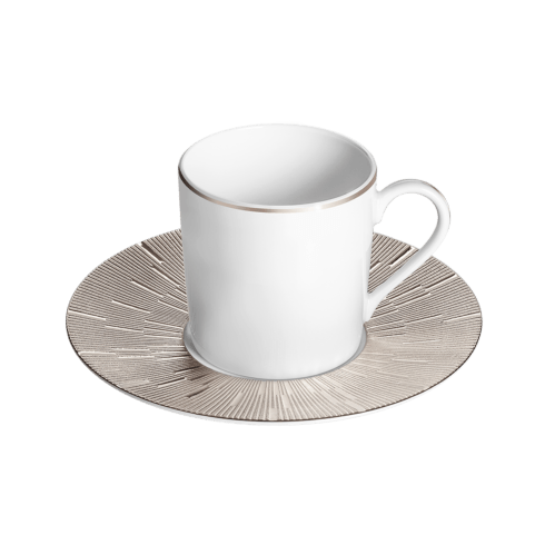 Coffee cup & saucer CYL