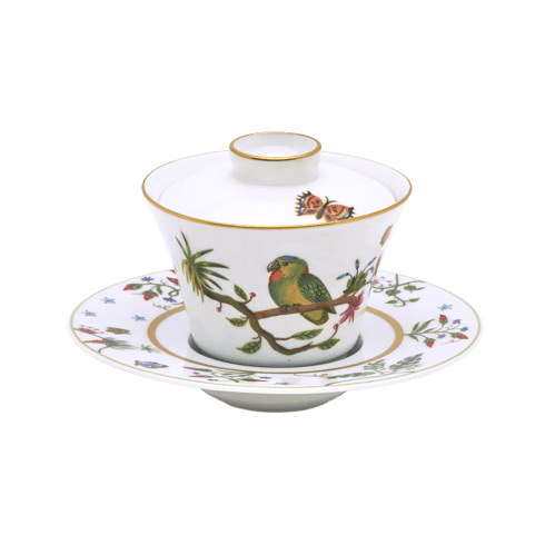 $221.00 Chinese Teacup & Saucer