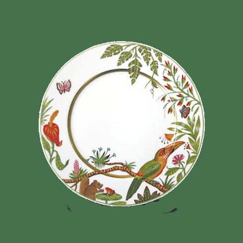 $90.00 Dessert Plate - Toucan Facing Right