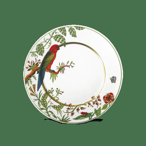 $90.00 Dessert Plate - Red Parakeet