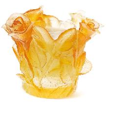 $375.00 Amber Candleholder