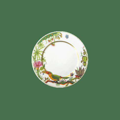 $90.00 Dessert Plate - Toucan Facing Left