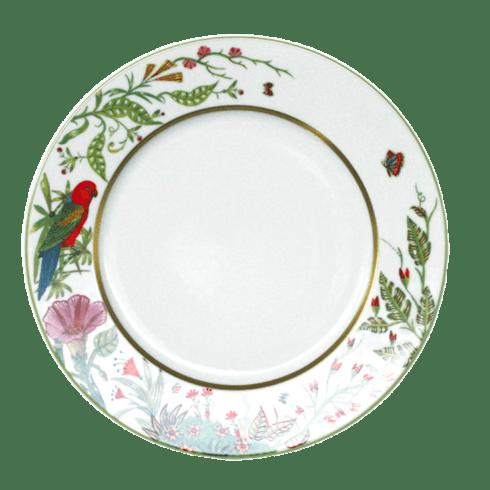 $113.00 Large Dinner Plate - Red Parakeet