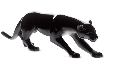 Animal Sculptures - Panther collection with 7 products