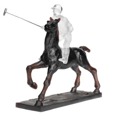 $3,210.00 Black Polo Player