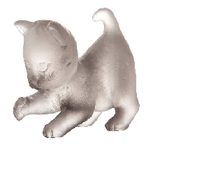 Grey Player Mini Kitten