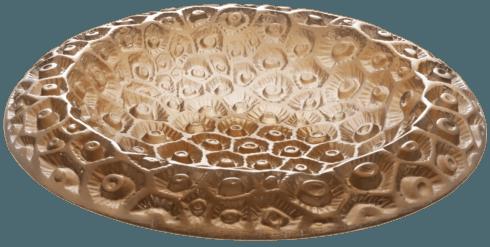 Small grey amber bowl