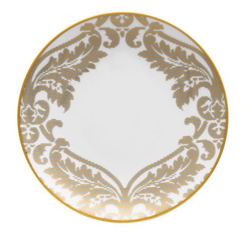 $135.00 Large Dinner Plate Gold