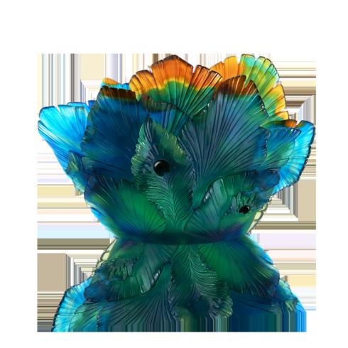$8,850.00 Fleur de Paon Vase