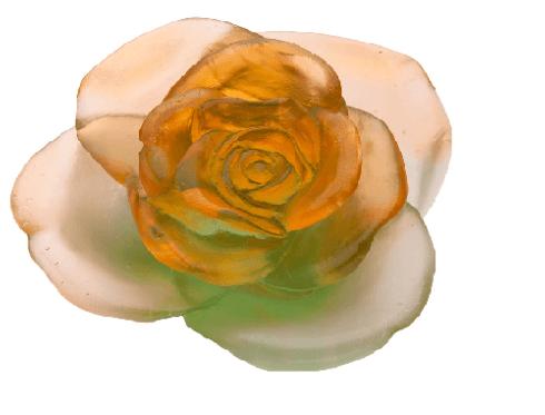 $495.00 Green orange flower