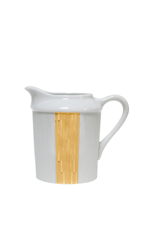 $250.00 Infini gold cream jug with small handle
