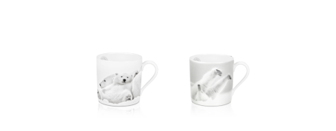 $189.00 Set of 2 Mini Mugs - Late Morning & Emotion Arctique