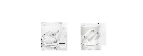 $203.00 Set of 2 Mini Mugs - Late Morning & Emotion Arctique