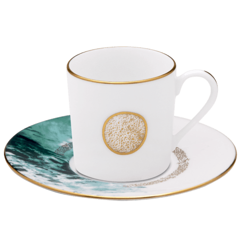 $128.00 Coffee Cup & Saucer