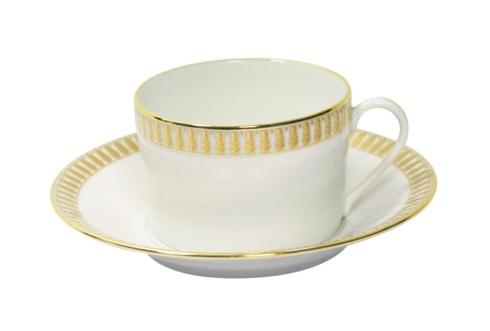 Haviland  Plumes Gold Tea Saucer $55.00