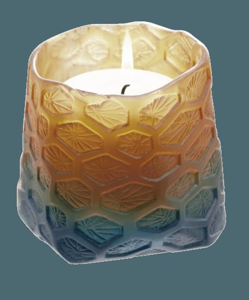 $500.00 Candle pot night blue amber